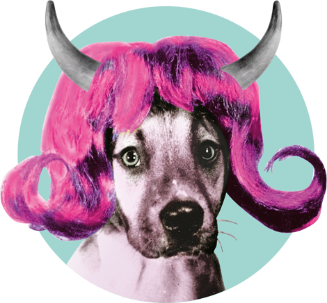 Teater Hund Logo